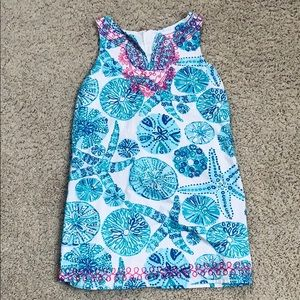 Lilly Pulitzer for Target Turquoise, White Dress